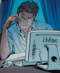 Largo Winch et son iMac