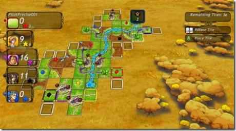Carcassonne sur Xbox 360
